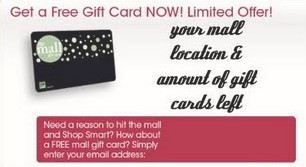 Free Online Mall Gift Card