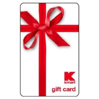 Kmart Gift Card Certificate