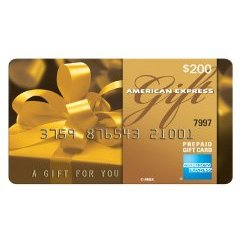 American Express Gift Card Prepaid Credit Card
