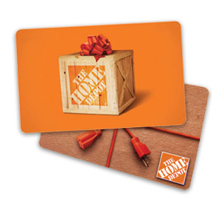 Home Depot Gift Card Certificate