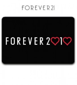 Forever 21 gift card